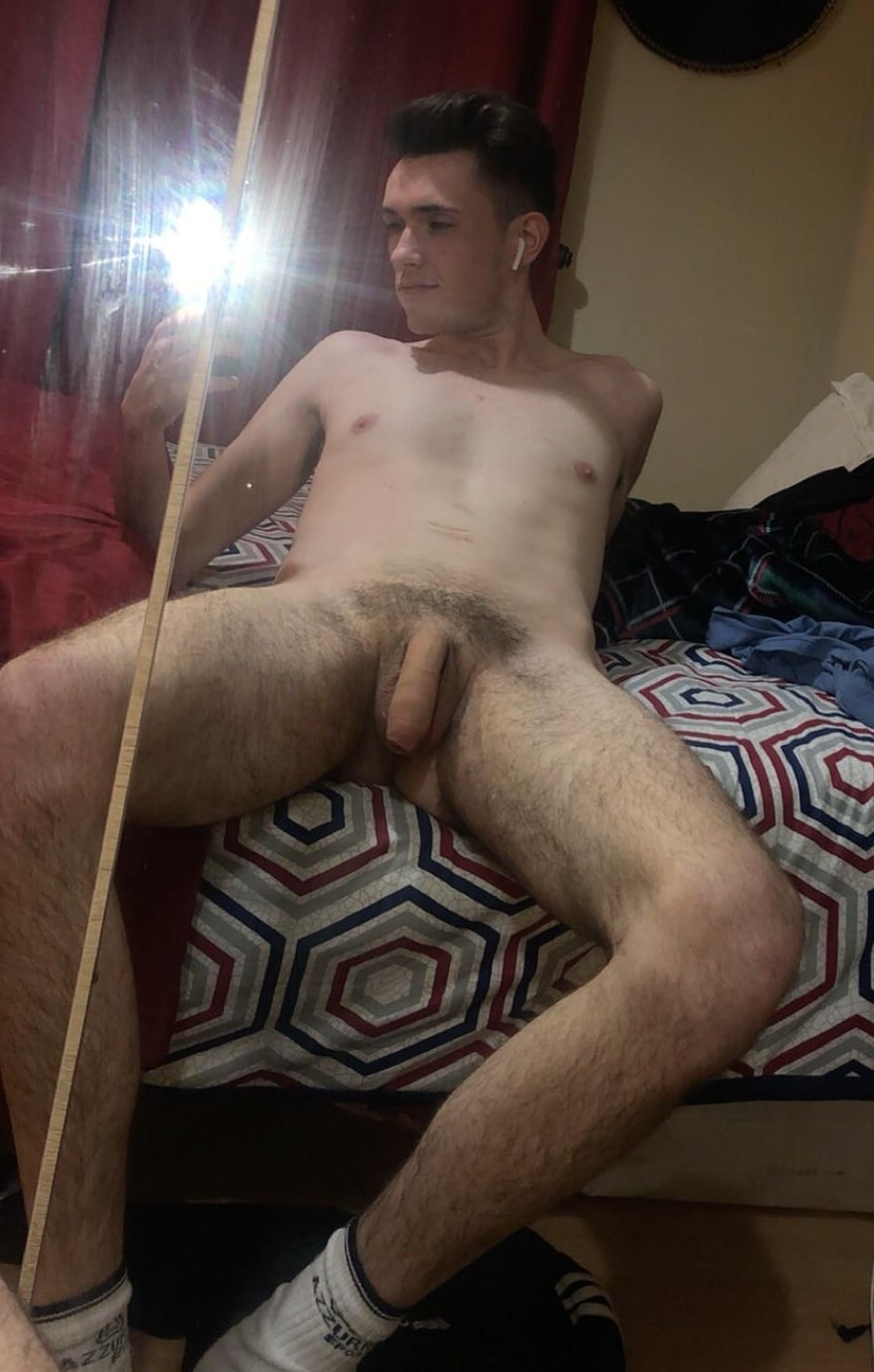 Sexy boy with soft cock