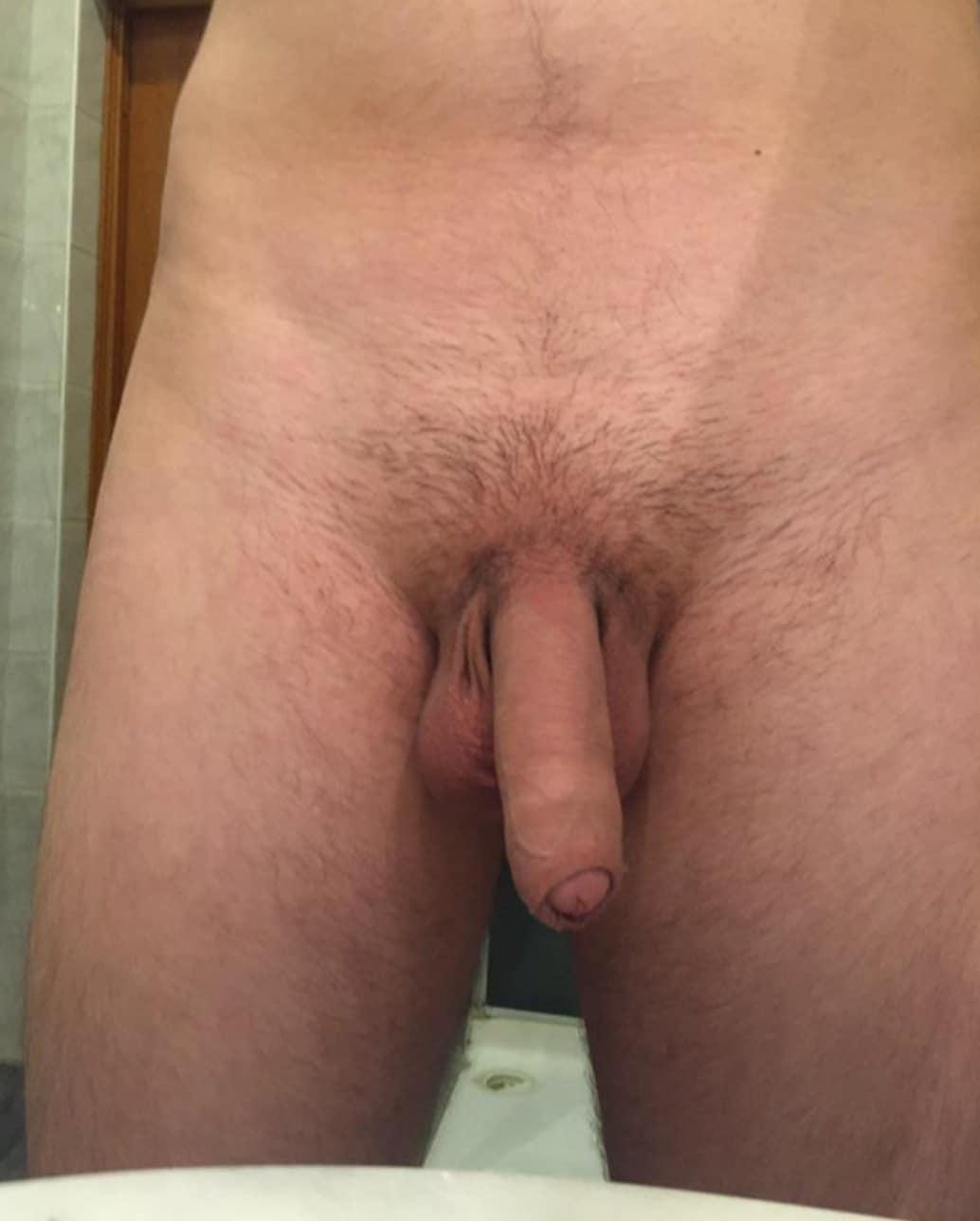 Soft uncut dick picture